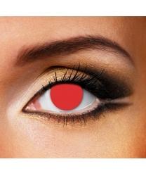 Линзы красное бельмо - Цветные линзы, арт: 7539