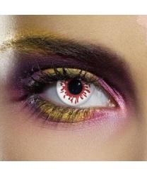 Линзы Пятно крови, однодневные - Цветные линзы, арт: 7543
