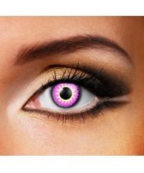 Линзы Glamour violet, однодневные