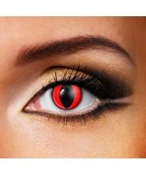 Линзы Красный кошачий глаз