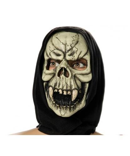 Маска Скелета с клыками, полиэстер, латекс (Германия)