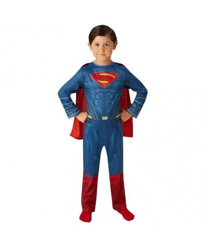 Костюм Супермена детский: Комбинезон, плащ (Германия)