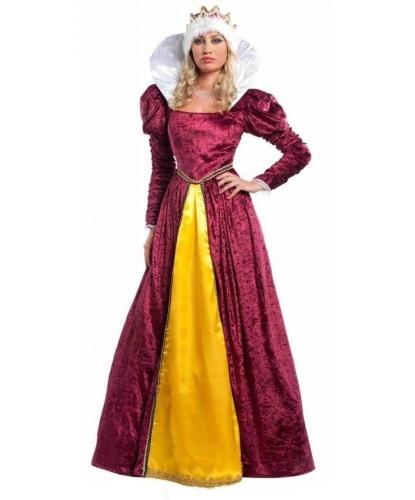 Женский костюм эпохи Возрождения: платье, корона (Италия)