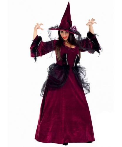 Платье готической ведьмы: платье, колпак (Италия)