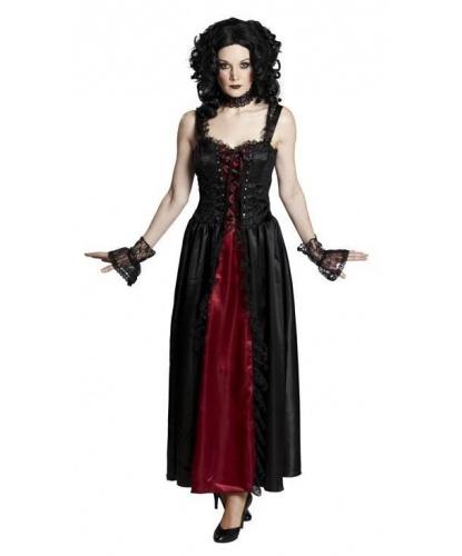 Готическое платье: платье, чокер (Германия)