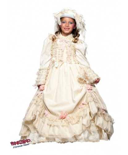 Костюм княжны для девочки: платье, головной убор (Италия)