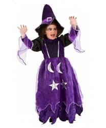 Детский костюм колдуньи-чародейки