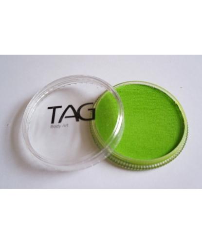 Аквагрим TAG салатовый, шайба 32 гр. (Австралия)