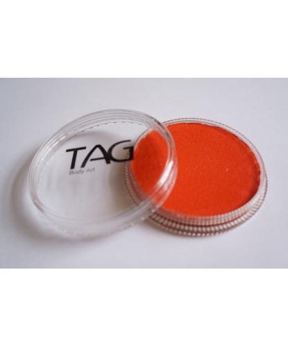 Аквагрим TAG оранжевый неоновый, шайба 32 гр. (Австралия)