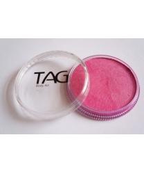Аквагрим TAG перламутровый, розовый, шайба 32 гр. (Австралия)