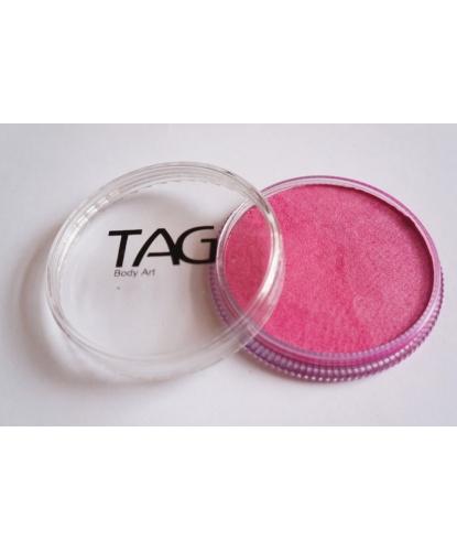 Аквагрим TAG розовый, перламутровый, шайба 32 гр. (Австралия)