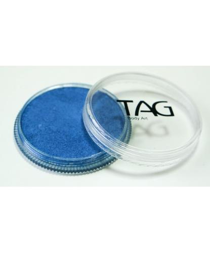 Аквагрим TAG синий, перламутровый, шайба 32 гр. (Австралия)