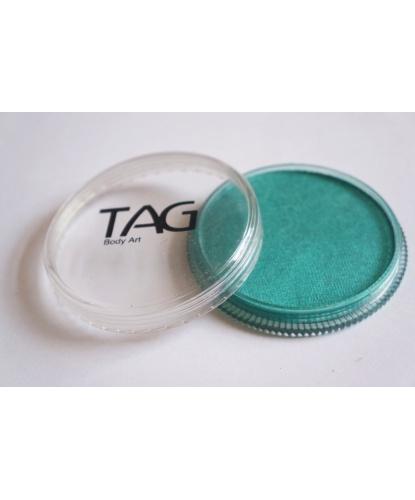 Аквагрим TAG зеленый, перламутровый, шайба 32 гр. (Австралия)