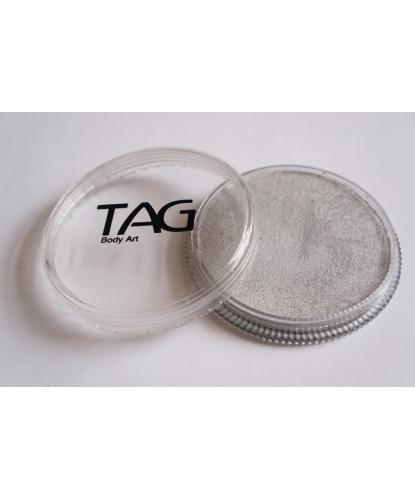 Аквагрим TAG серебряный, шайба 32 гр. (Австралия)