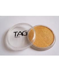 Аквагрим TAG золотой, шайба 32 гр. (Австралия)