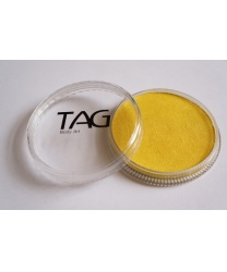 Аквагрим TAG перламутровый желтый 32 гр