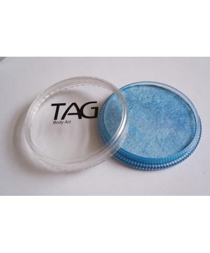Аквагрим TAG голубой, перламутровый, шайба 32 гр. (Австралия)
