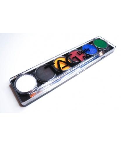 Аквагрим TAG разноцветный, регулярные цвета, шайба 6х10 гр. (Австралия)