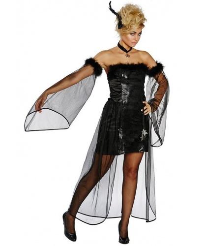 Костюм Падший ангел: платье, нарукавники (Германия)