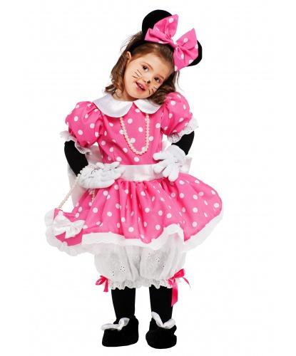 Костюм Минни Маус: легинсы, ободок с ушами, панталоны, перчатки, платье, сумочка (Италия)