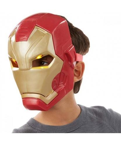 Электронная маска Железного Человека, пластик (США)