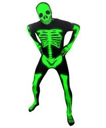 Морф-костюм Скелет (светится в темноте)