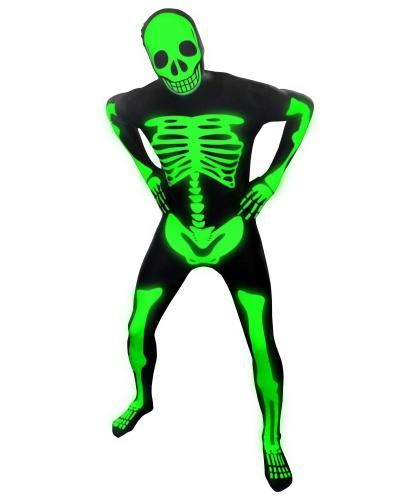 Морф-костюм Скелет (светится в темноте) (Великобритания)