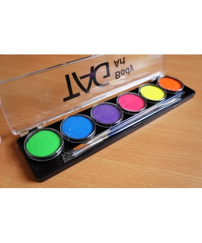 Аквагрим TAG разноцветный, шайба 6х10 гр. (Австралия)