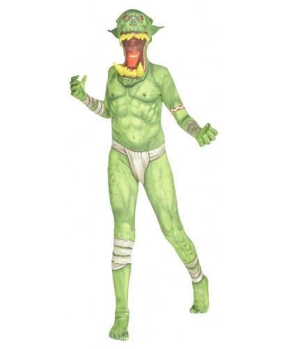 Детский морф-костюм Зеленый орк (Великобритания)