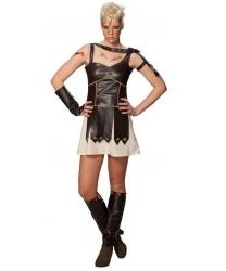Костюм Гладиаторши: платье, 1 манжет, накладки на обувь (Германия)