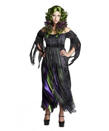 Костюм болотной колдуньи: платье (Германия)