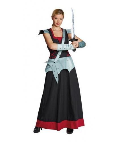 Костюм истребительницы драконов: платье, митенки (Германия)