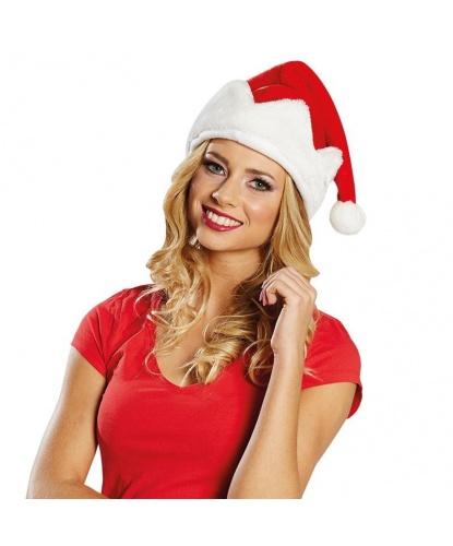 Рождественский плюшевый колпак Санты (Германия)
