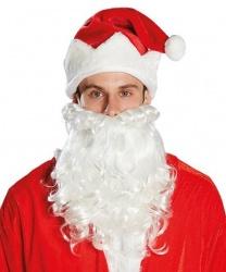 Борода Санта Клауса на резинке