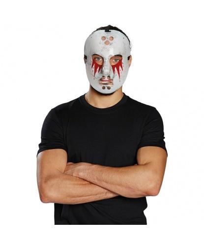 Хоккейная маска на Хэллоуин, пластик (Германия)