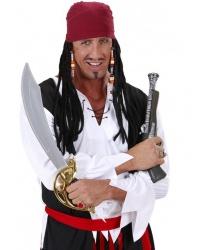 Пиратская бандана с дредами - На голову, арт: 7680