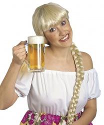 Парик блондинки с косой