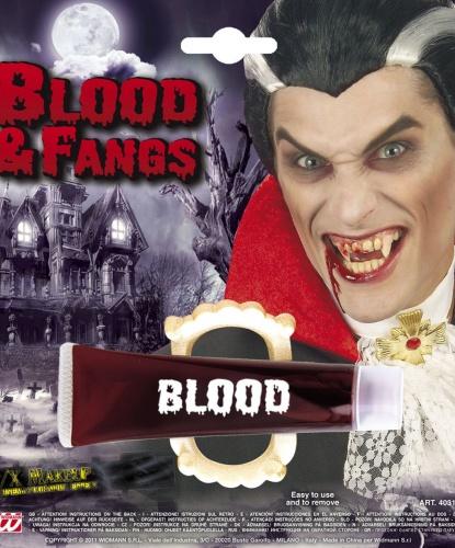 Кровь с вампирской челюстью (Италия)