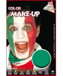 Масляный театральный грим зеленый, шайба 9,6 мл (Италия)