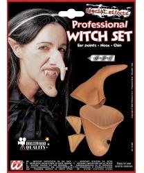 Набор Ведьмы (уши,нос,подбородок)