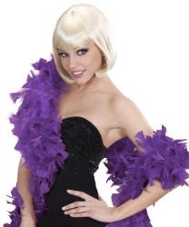 Фиолетовое боа Deluxe