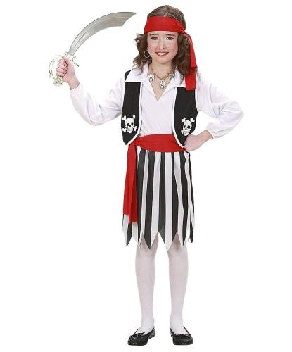 Костюм пирата для девочки: юбка (Италия)