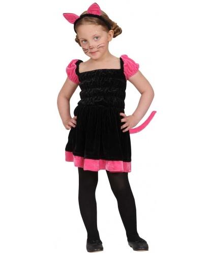 Детский костюм Кошечки: платье, ушки (Италия)