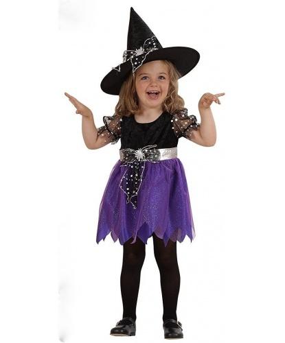 Костюм малышки ведьмочки: платье, колпак (Италия)
