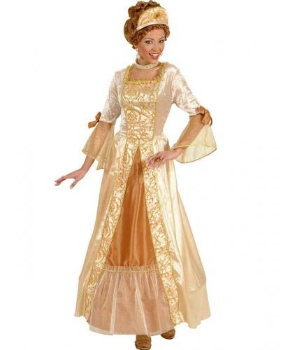Золотое платье принцессы: платье (Италия)