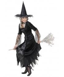 """Черное платье ведьмы """"Паутинка"""""""