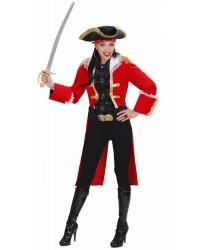 Костюм предводительницы пиратов: камзол, шляпа (Италия)