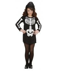 Платье скелета для девочки