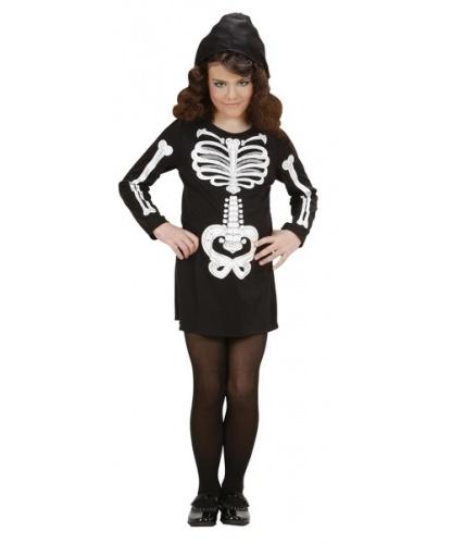 Платье скелета для девочки: платье (Италия)