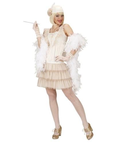 Платье в стиле 20-х годов: платье, головной убор, печатки, мундштук (Италия)